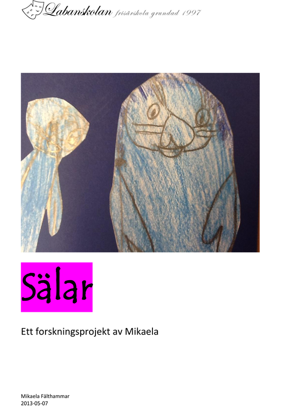Forskningsprojekt om slar av Mikaela Flthammar